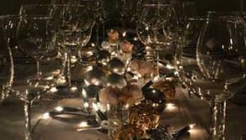 brug de gode ideer til festen såsom borddækning