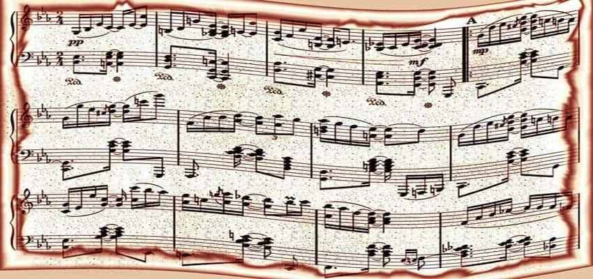 brug den rigtige melodi til at skrive konfirmationssangen