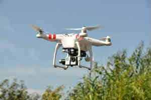 find den sjove og lidt dyre drone i gave til ham