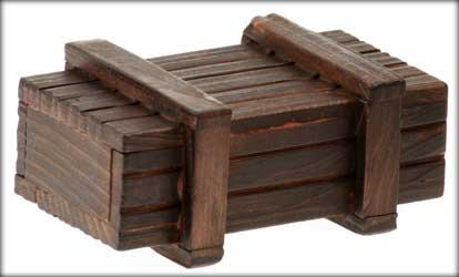 Giv iq træ boksen der kun kan åbnes på en måde