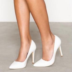 konfirmations sko med kilehæl