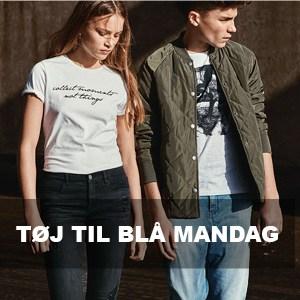 Blå mandag tøj til ham & hende – Find det fede modetøj her