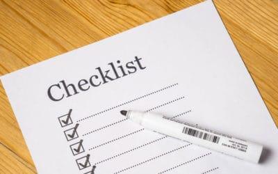 Brug en huskeliste til konfirmationen – Gør det nemt for dig selv!